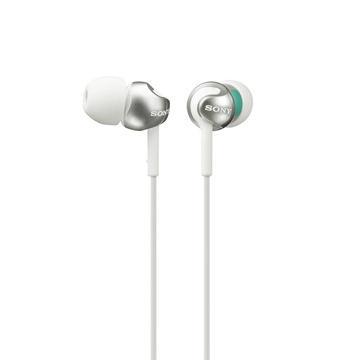 SONY MDR-EX110LP入耳式耳機-白(MDREX110LPWQE)