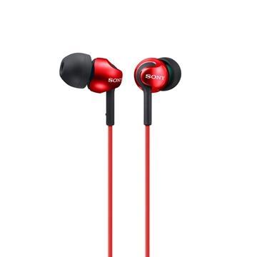 SONY MDR-EX110LP入耳式耳機-紅(MDREX110LPRQE)