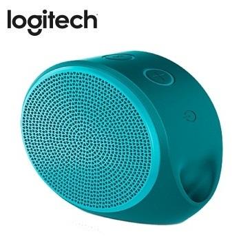 Logitech 藍牙揚聲器  X100(青綠)(984-000376)