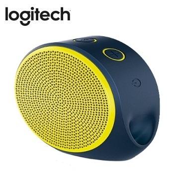 Logitech 藍牙揚聲器  X100(紫黃)(984-000370)
