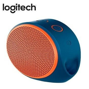 Logitech 藍牙揚聲器  X100(藍橘)(984-000371)