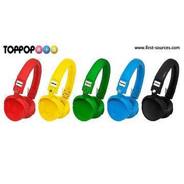 TOPPOP 馬卡龍立體聲耳罩式耳機 /(1支)(TP-13100907)