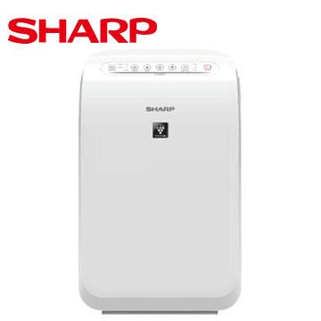 SHARP 自動除菌離子空氣清淨機(FU-D50T-W)