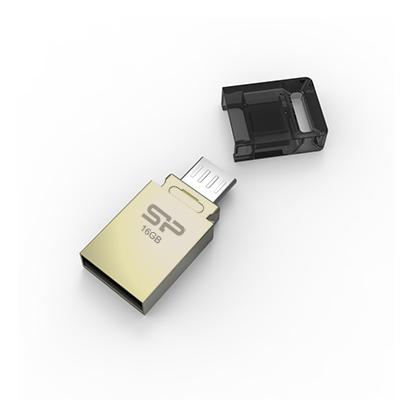 【16G】廣穎OTG Mobile X10 雙享碟(SP016GBUF2X10V1C)