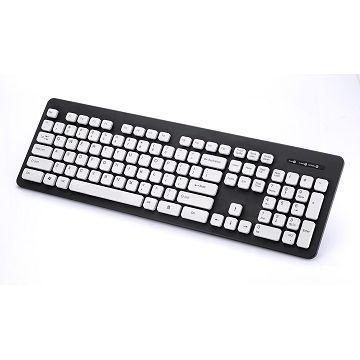 Beauty 水靈鍵可水洗鍵盤-灰(BKU-1401)