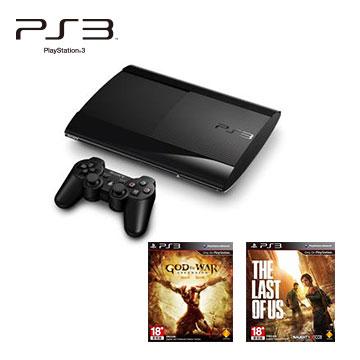 PS3-主機+遊戲片:最後生還者 (中英文合版)+遊戲片:SW戰神: 崛起()