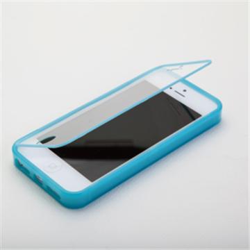 【 iPhone 5】RA 手機保護套-天藍(RAIA-FOLIOBL5)