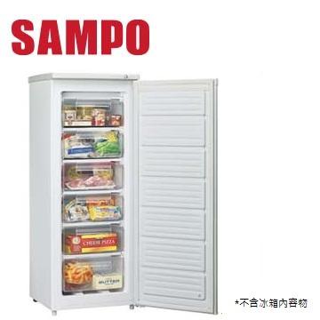聲寶 182公升冷凍櫃