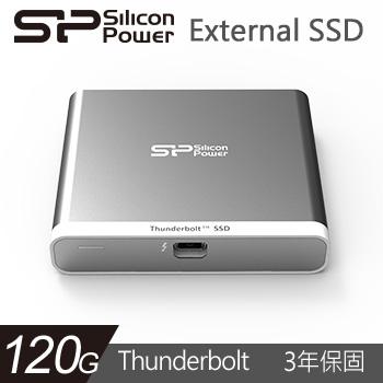 Silicon Power 2.5吋 120G SSD Thunderbolt(SP120GBTSDT11013)