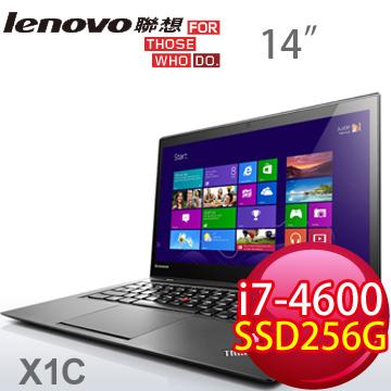 LENOVO ThinkPad 四代i7 雙核筆電(X1C 20A7004KTW)
