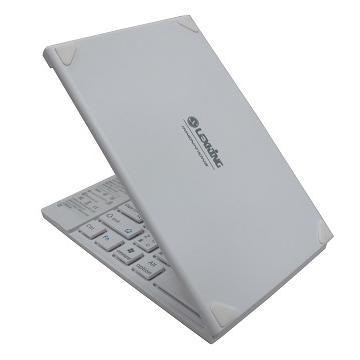 LEXKING手機平板專用藍牙3.0摺疊鍵盤-白(BT-7268W)