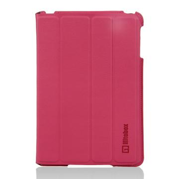 Hitobox SlimFolio iPad mini站立皮套-粉(HB-IPADM-SLIM-01P)