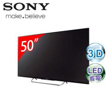 【福利品】 SONY 50型3D LED智慧型連網電視(KDL-50W800B)