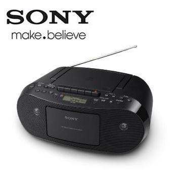 【福利品】 SONY 手提CD音響  CFD-S50/BC(CFD-S50/BC)