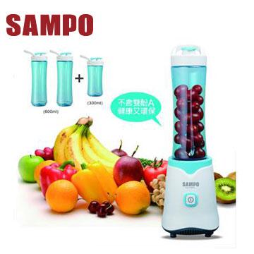 【展示機】聲寶隨行杯果汁機(三杯組)(KJ-L13061L)