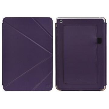 LUXA2 Butterfly iPad Mini 真皮皮套-紫色