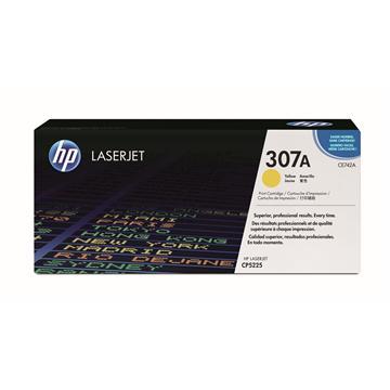 HP CP5225DN 黃色碳粉匣(CE742A)