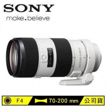 SONY E接環全片幅70-200mm變焦單眼相機鏡頭(SEL70200G)