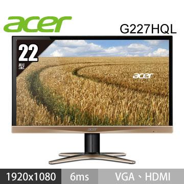 ACER G227HQL 22型 IPS(G227HQL(ki)金)