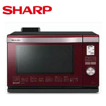 SHARP 26L HEALSIO水波爐(紅)