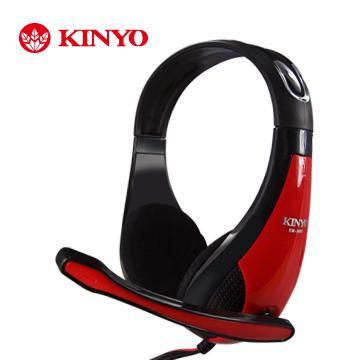 KINYO 高音質立體聲耳機麥克風
