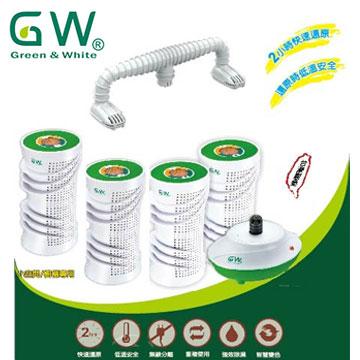 GW水玻璃分離式無線除濕機4入組