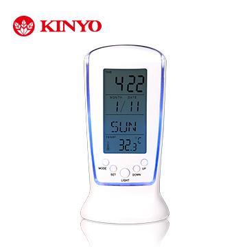 KINYO 液晶萬年數字鐘(TD-335)