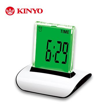 KINYO 炫彩液晶數字鐘(TD-336)