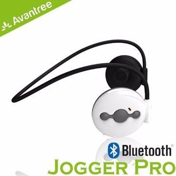 Avantree Jogger Pro防潑水運動藍芽耳機-白(AS6P-WH)