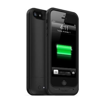 Mophie iPhone 5/5S 背蓋式電源1700mAh-黑