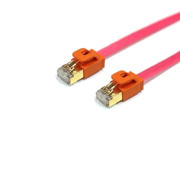群加Cat.7超高速網路線-2M 粉紅色(CAT7-GFIMG22-4)