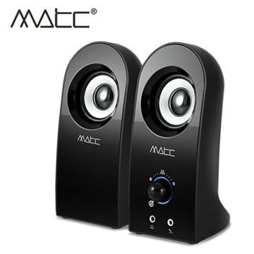 MATC 2.0聲道防磁主動式多媒體音箱(MA-2204)