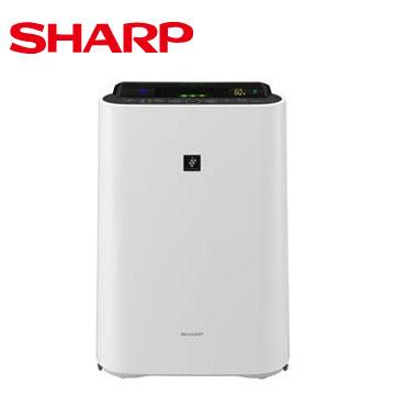 SHARP 日本進口12坪自動除菌離子清淨機(KC-JD50T-W)