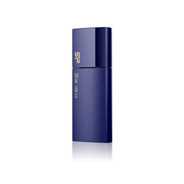 【32G】廣穎Blaze B05(藍)隨身碟(SP032GBUF3B05V1D)