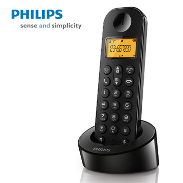 PHILIPS簡單生活數位無線電話(D1201B)
