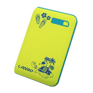 【12000mAh】LANBO夏威夷假期 行動電源(1202-jdw-萊姆x藍綠)