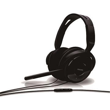 PHILIPS SHM6500電腦耳機-黑(SHM6500/97)