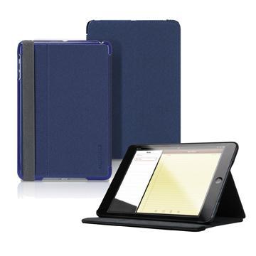 TUNEWEAR iPad mini Retina 布質皮套-藍(TW-GI-MINIFOLIO-01B)