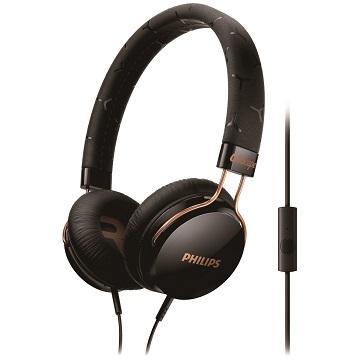 PHILIPS SHL5305頭戴式耳機麥克風-黑(SHL5305BK/00)