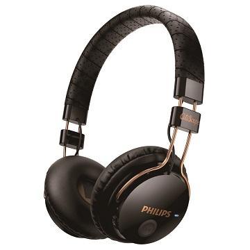 PHILIPS SHB8000頭戴式藍芽耳機-黑(SHB8000BK/00)
