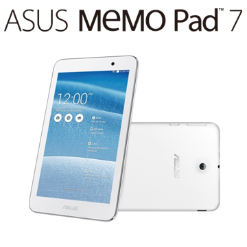 展-ASUS MeMO Pad ME176C 16G-WIFI/白(ME176C-1B024A)
