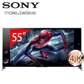 【福利品】SONY 55型3D 4K智慧型連網電視 KD-55X9000B