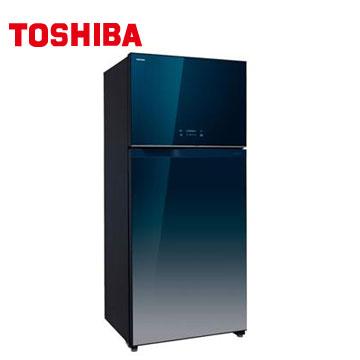 TOSHIBA 608公升雙門鏡面變頻冰箱(GR-WG66TDZ(GG))
