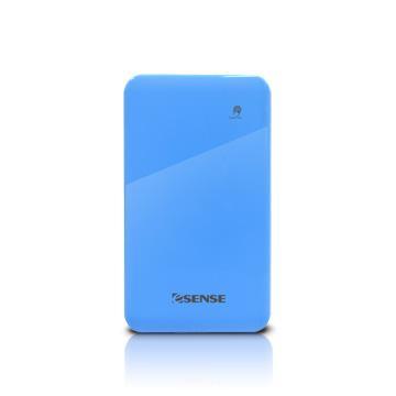 【4500mAh】Esense 超薄 行動電源-藍(37-APE450RBL)