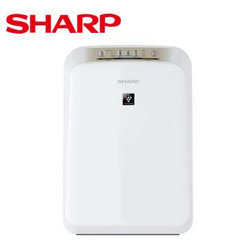 SHARP 8坪自動除菌離子空氣清淨機(FU-D30T-W)