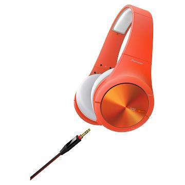 Pioneer SE-MX7耳罩式耳機-橘(SE-MX7-M)