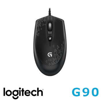 羅技 電競滑鼠 G90(910-004214)