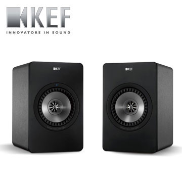 KEF 多媒體無線 Hi-End揚聲器   X300A Wireless B(黑)(X300A Wireless B(黑))