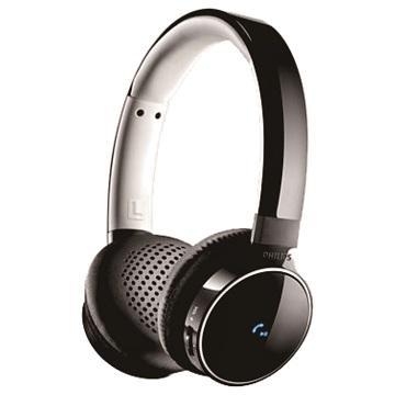 PHILIPS SHB9150頭戴式藍芽耳機-黑(SHB9150BK/00)