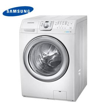 SAMSUNG 14公斤魔力泡泡净滚筒洗衣机(WF14F5K3AVW/TW)